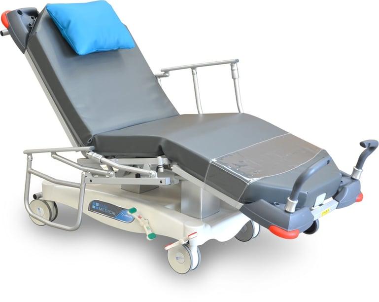 CLAVIA LSA elektrisch verstellbarer Behandlungssessel für ambulante Versorgung